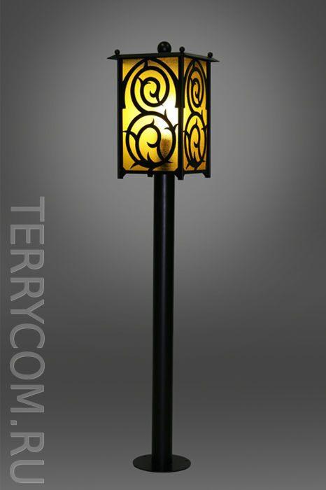 Уличные фонари на столбы своими руками